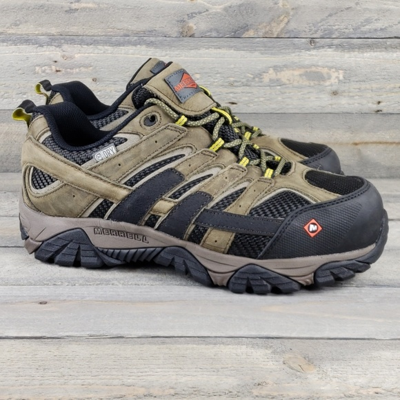 bright n colour limited price variety design New Merrell Men's Dry Work Hiking Select Grip Shoe
